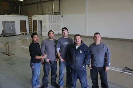 Our Sunbelt flooring team.