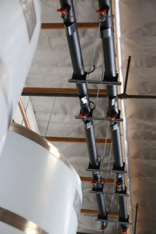Glycol Lines with Drops in Place