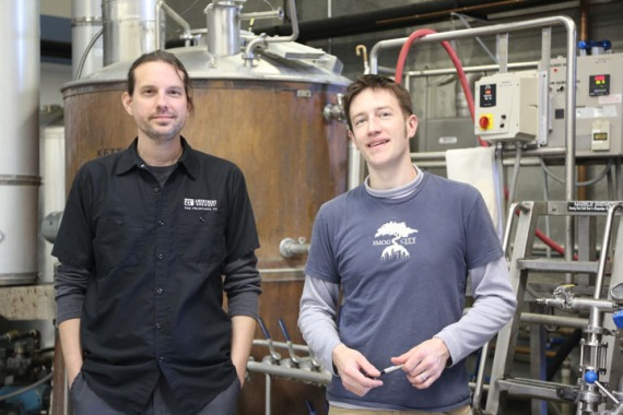 Zambo and Porter during our Collaboration Brew